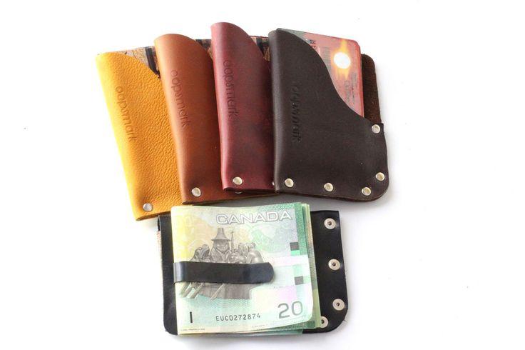 Mały portfel skórzany | Gold King