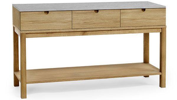 Ekliden avlastningsbord med kalkstenstopp Nilssons Möbler i Lammhult AB G&L Pinterest Abs