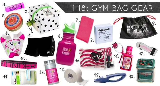 Stocking stuffers for gymnasts | Gymnastics Gifts