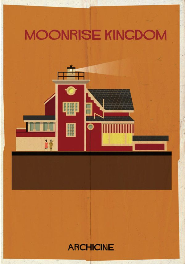 Cinematic Architectural Illustrations by Federico Babina Photo