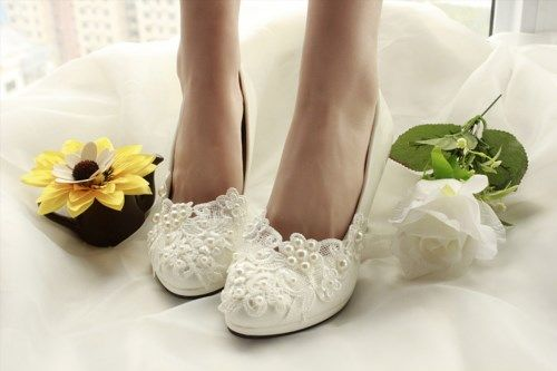 49.00$  Watch here - http://vichm.justgood.pw/vig/item.php?t=88pihy40259 - white wedding shoes single shoes high-heeled bridesmaid shoes party shoes