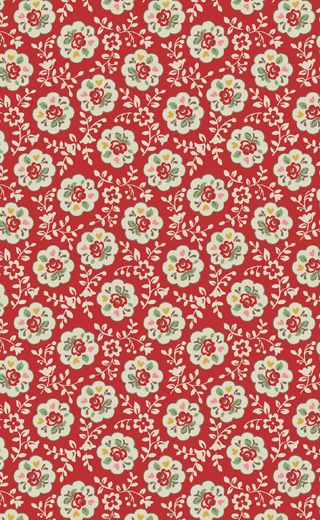 Cath Kidston - Kempton Rose Print fabric. [safe link to site - but item not found]