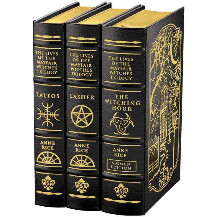 A Leather-Bound Collector's Edition Set from the legendary author, Anne Rice. With The Witching Hour Personally signed by Anne Rice.