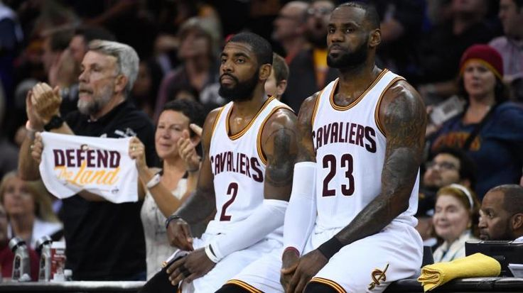 LeBron James is pitching free agents on Cleveland but the Cavs cant even reach Kyrie Irving by phone
