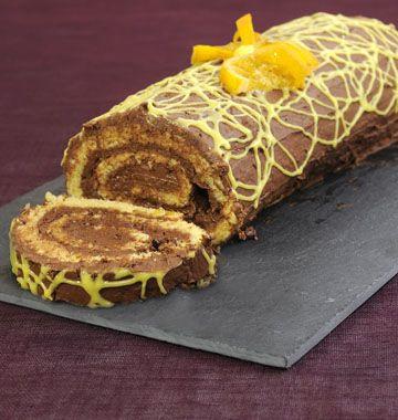 Bûche de Noël chocolat orange - Ôdélices : Recettes de cuisine faciles et originales !