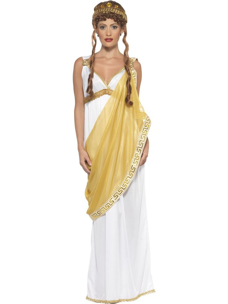 Helen of Troy costume. Disfraz de Helena de Troya. Disfraces Cristina. leondisfraces.es . Fiestas romanas.