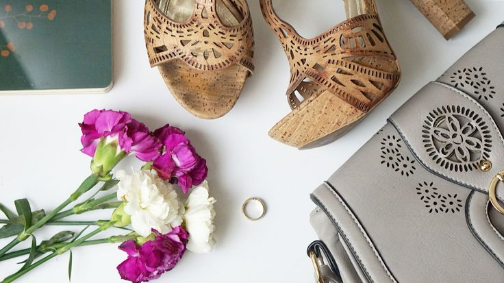 Perf-orated shoes for a perf day!  #shoes #bags #lasercut #leather