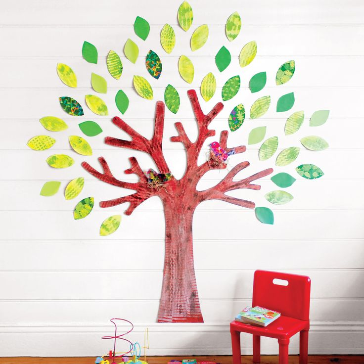 Dress it for the seasons and create a unique Play Room with our Giant Wooden Display Tree.