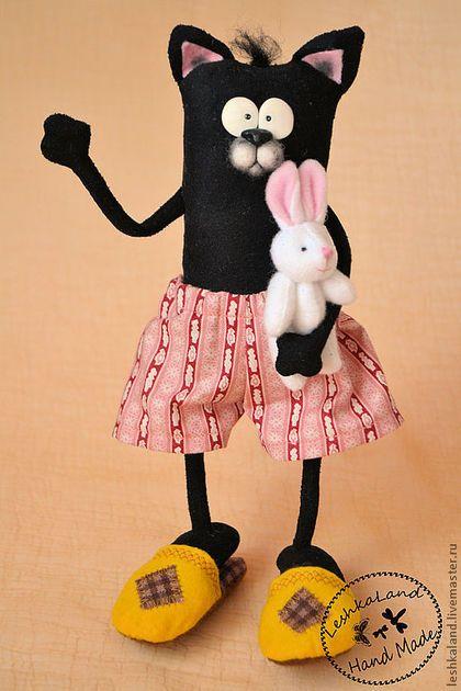 Коллекционные куклы ручной работы. Добрых снов, Мартин!. Лена Лешка. Ярмарка Мастеров. Забавный, ивовая лоза