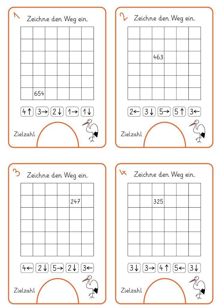 990 best Mathe: Klasse 1 - 4 images on Pinterest | Grundschulen ...