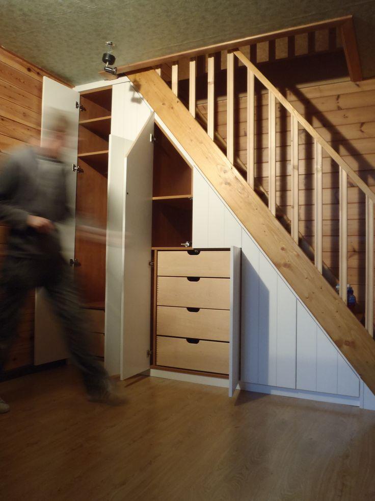 1000 id es sur le th me placard sous escalier sur - Idee rangement sous escalier ...