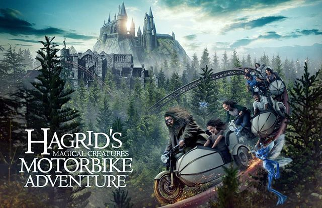 Are You Headed To Universal This Summer The New Harry Potter Ride Opens On June 13 2019 Hagrid Harry Potter Ride Universal Orlando Universal Orlando Resort