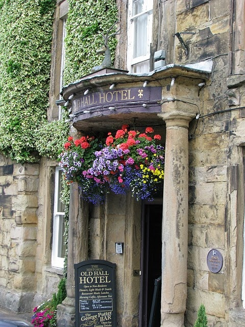 ~The historic Old Hall Hotel in Buxton, Derbyshire - England~ right across the street from the Buxton Opera House: a fine destination for the annual International Gilbert & Sullivan Festival