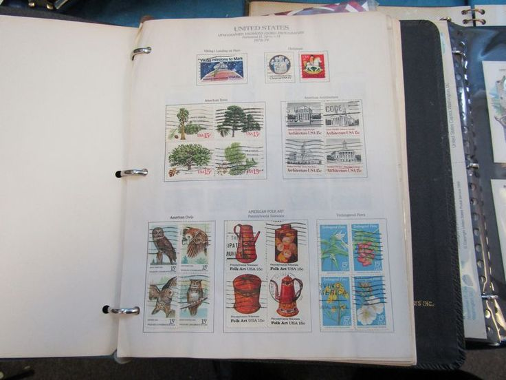 Used loose and collections of U.S. postage stamps, First Day Issues/Covers, catalogs, etc. First Day cover dates from the 1970's to 1990's.
