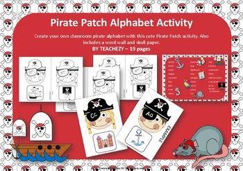 Pirate Patch Alphabet Activity