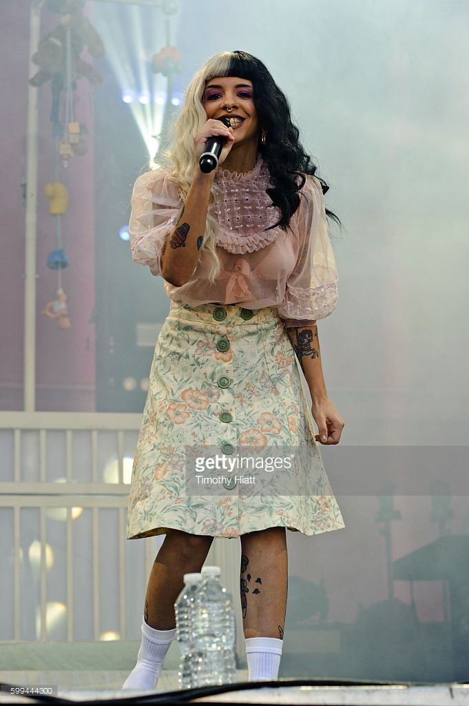 Melanie Martinez performs on Day 3 of the 2016 Bumbershoot Festival at Seattle…