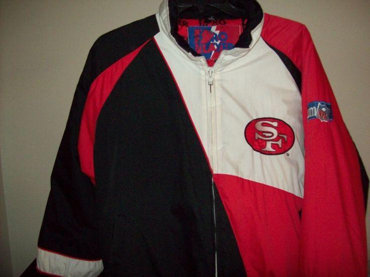 San Francisco 49ers Team Mens Jacket Size XL #ProPlayer