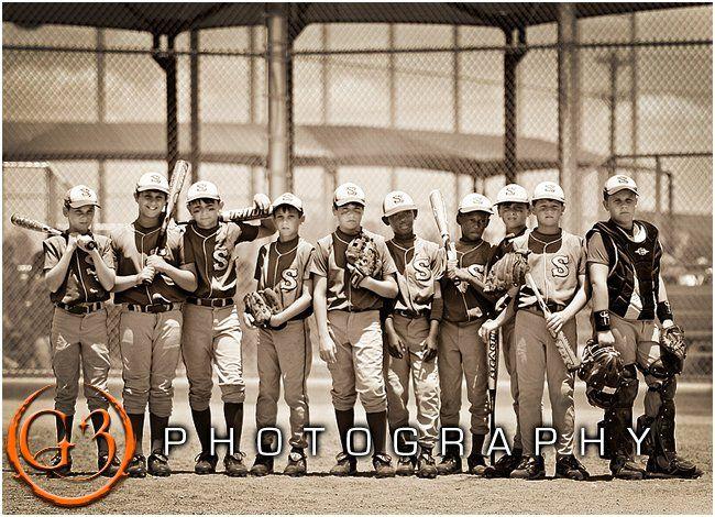 baseball, little league, team photo
