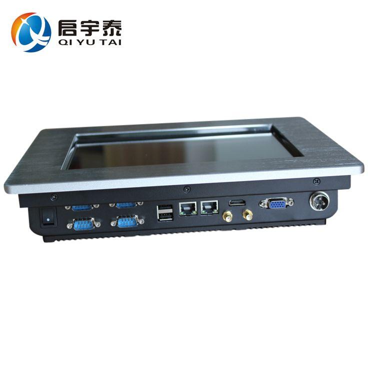 Embedded panel pc 10.4 дюймов Infrare сенсорный с Intel Atom N2800 1.8 ГГц Промышленный компьютер Разрешение 800x600 2 ГБ DDR3 32 Г SSD