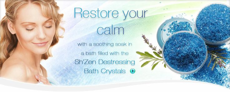 Sh'Zen for beautiful face, body, hands, hair, nails and feet.