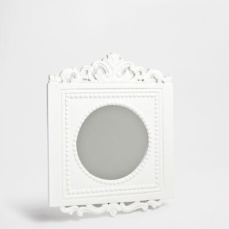 VIERKANTE SPIEGEL MET DETAIL BOVENZIJDE - Spiegels - Decoratie | Zara Home Netherlands