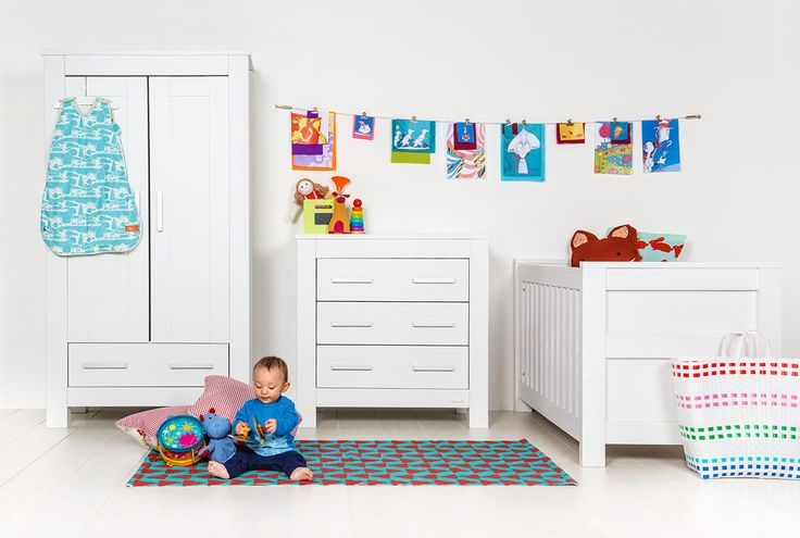 The Bordeaux furniture set will look amazing and any in babies nursery and comprises of a Cot-bed, Wardrobe, Dresser with Changer Top and Shelf.: Baby Nurseries