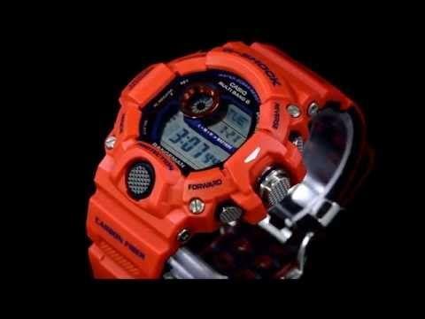 CASIO G-SHOCK RANGEMAN GW-9400FBJ-4JR カシオ 神戸市消防局タイアップモデル レンジマン - YouTube
