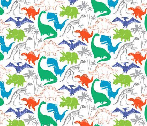 54 Best Images About Fabrics Dinosaur On Pinterest Fat