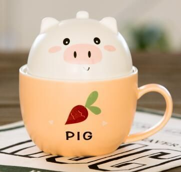 CuteFTW: More cute at the cutest online store around: Cafe Pig Ceramic ... - Click the link to purchase it now: http://cuteftw.com/products/cafe-buddy-ceramic-mug-with-lid-pig?utm_campaign=social_autopilot&utm_source=pin&utm_medium=pin