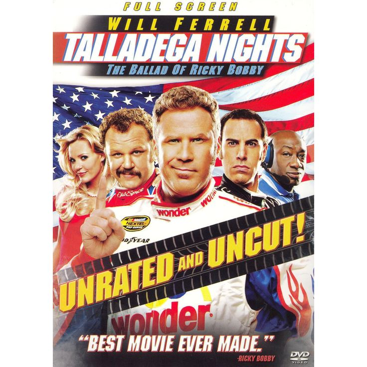 Talladega Nights: The Ballad of Ricky Bobby (P&s) (Unrated) (dvd_video)