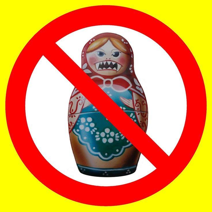 не покупай российское  По данным Infoline, в физическом выражении объемы продаж в продуктовом ритейле на Украине упали всего на 1% (в денежном выражении падение больше из-за девальвации). При этом, по данным УАПТС, падение продаж российских товаров с начала 2014 года составило от 25% до 40%.