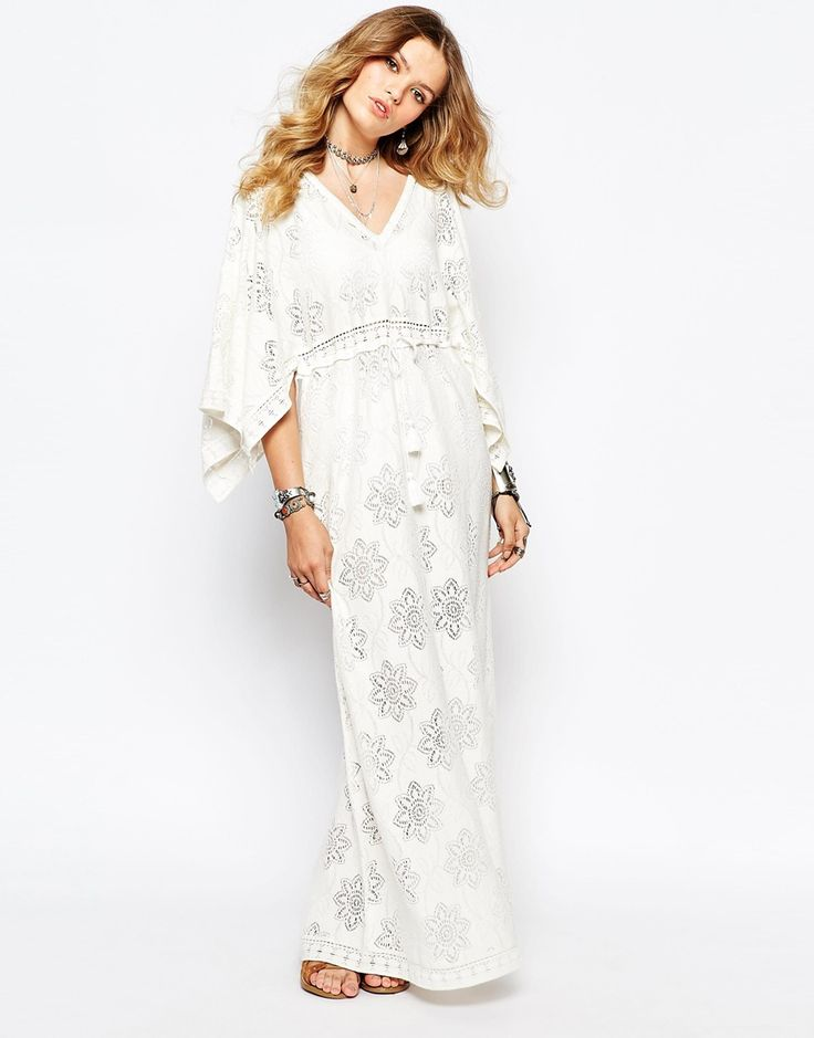 Image 1 - Gat Rimon - Kab - Maxi robe d'été - Blanc