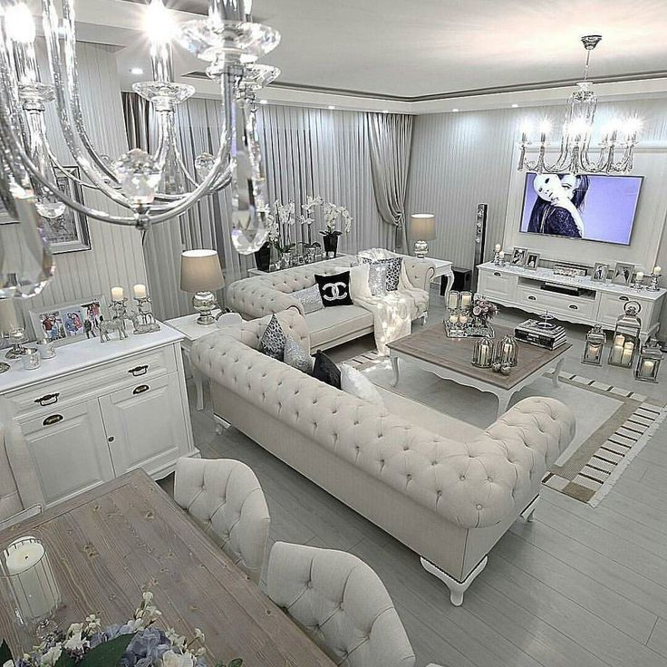 Best 25 silver bedroom decor ideas on pinterest white and silver bedroom silver bedding and - Silver living room designs ...