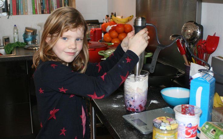 Pannenkoek met fruit - Kids in the kitchen