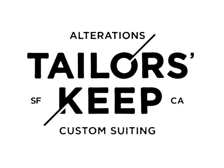 Tailors' Keep Logo Concept by Daniel Patrick Simmons