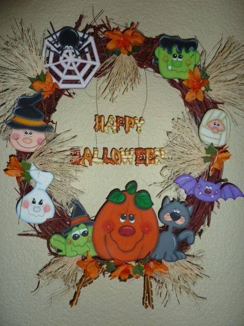Corona Halloween Macamno1 Hotmail Com Madera Country