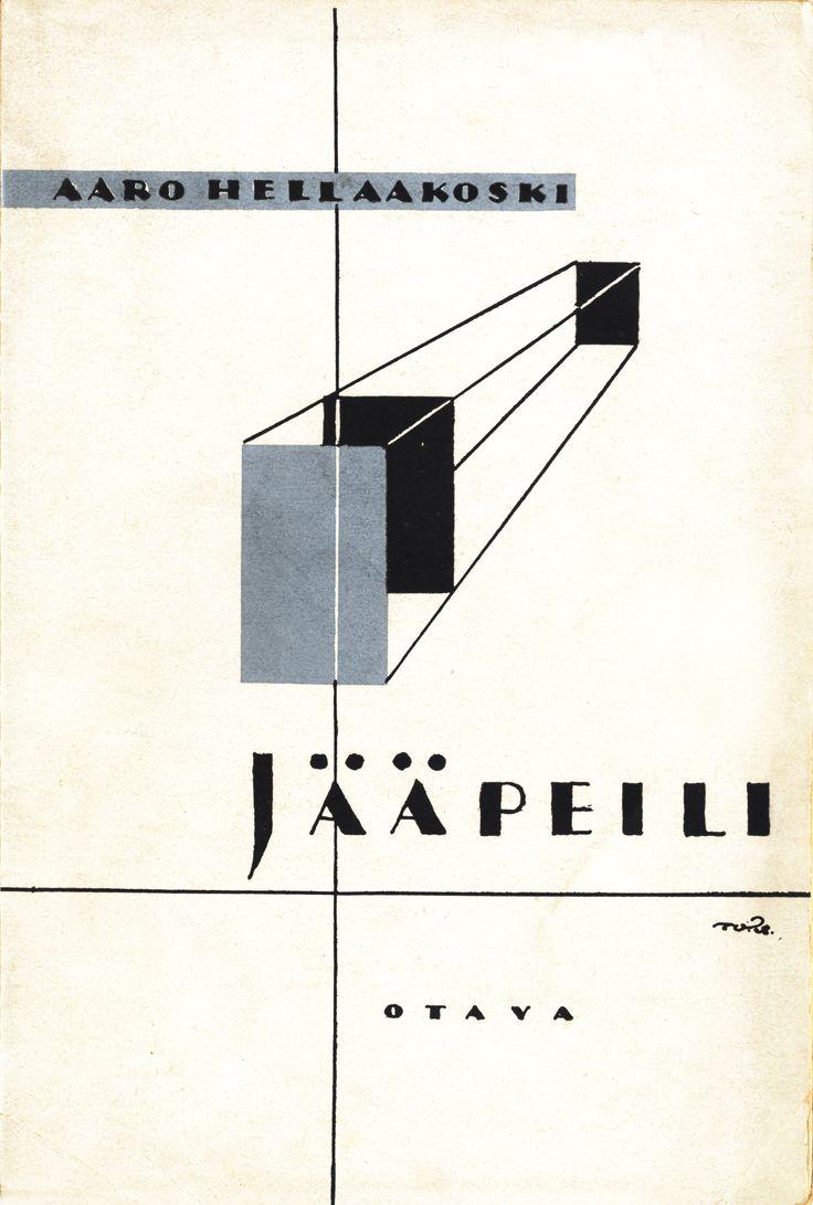 Title: Jääpeili   Author: Aaro Hellaakoski   Designer: Topi Vikstedt