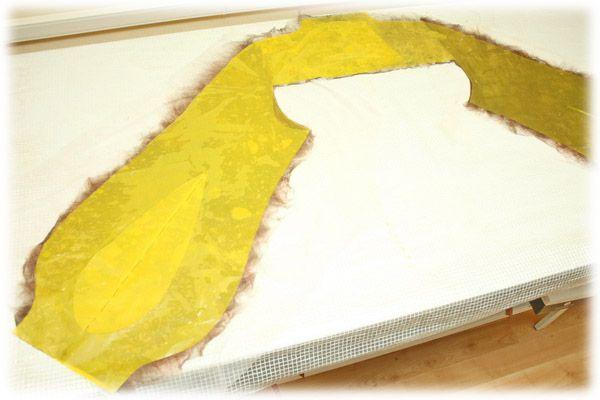 От простого к сложному: валяем жакет с кокеткой и объемными элементами - Ярмарка Мастеров - ручная работа, handmade
