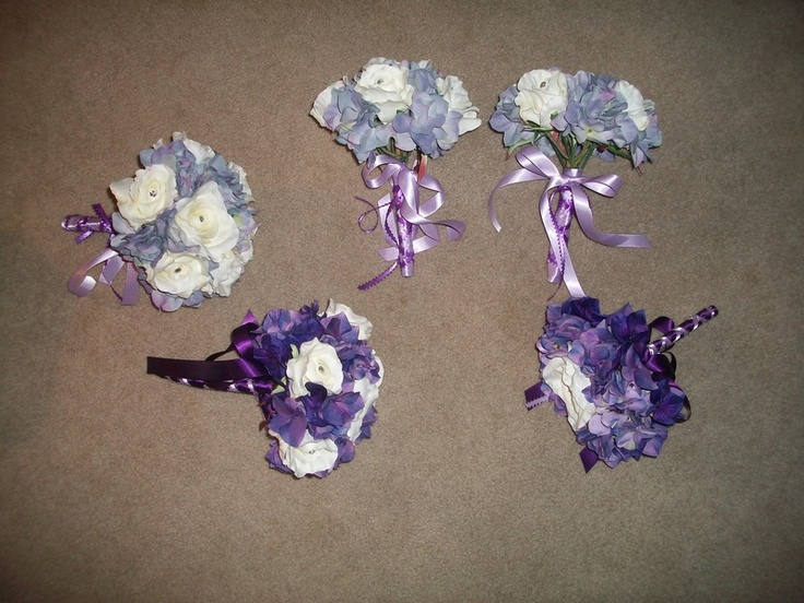 These were my bridesmaids' bouquets!! :-) Definitely recommend!!