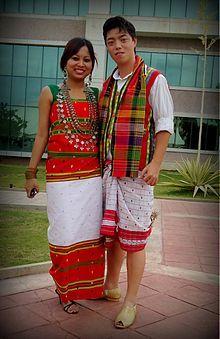 Bodo tribal dress images