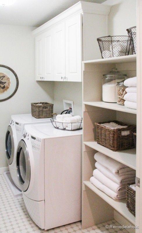 White Bathroom Laundry Storage 119 best laundry room images on pinterest | laundry, the laundry