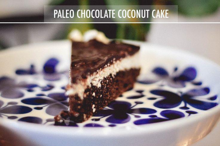 Cake Chocolate Paleo