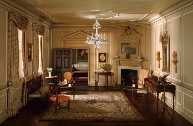 Rooms: 48 Best Images About Art: Thorne Miniature Rooms On Pinterest