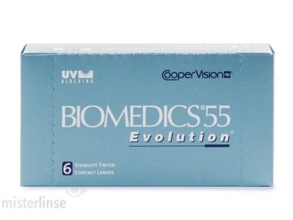 Günstig im Mister Linse Kontaktlinsenshop: Biomedics 55 Ecolution Monatslinsen