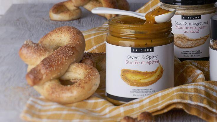 Everything Bagel Soft Pretzels Get the #recipe here: https://carolferguson.epicure.com/en/recipe/6197