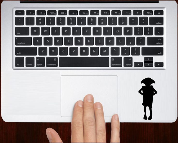 Harry Potter Insipired Dobby Unique Decal Stickers For Macbook Keyboard Trackpad #RusticDecal