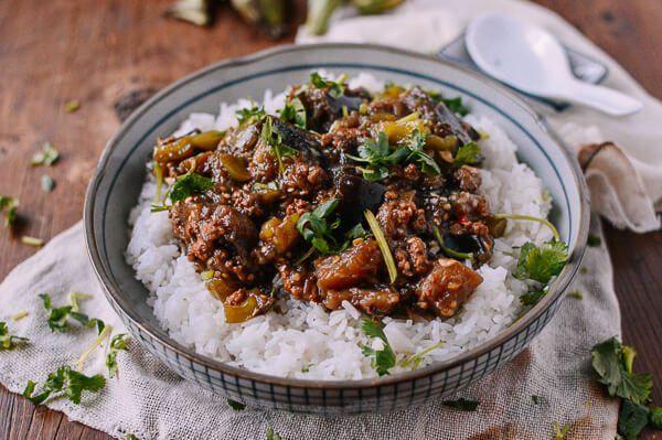 Braised Eggplant With Minced Pork 肉沫茄子 Recipe Asian Recipes Pork Eggplant Dishes