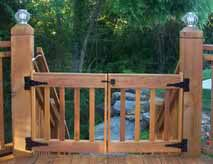 24 Best Deck Gates Images On Pinterest Gate Gates And