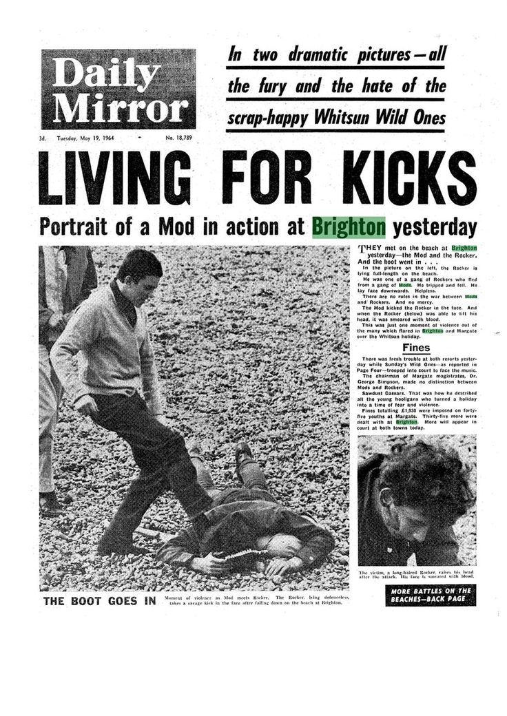 Mods v Rockers! 1964 beach battles that rocked Britain - and terrified bank holiday tourists - Mirror Online