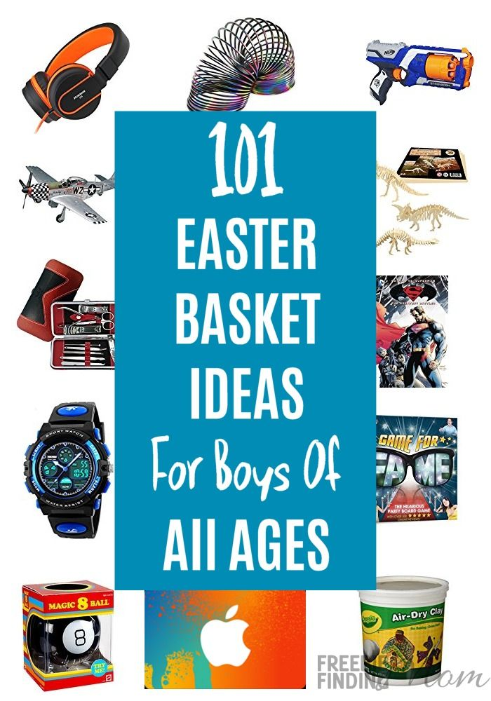 Need Easter basket ideas for boys? Here you'll find 101 Easter Basket Ideas For Boys Of All Ages. Whether you are in search of cheap Easter basket ideas for toddlers or older kids you'll find lots of inspiration. Hop on over and pick up your favorite Easter basket filler ideas.